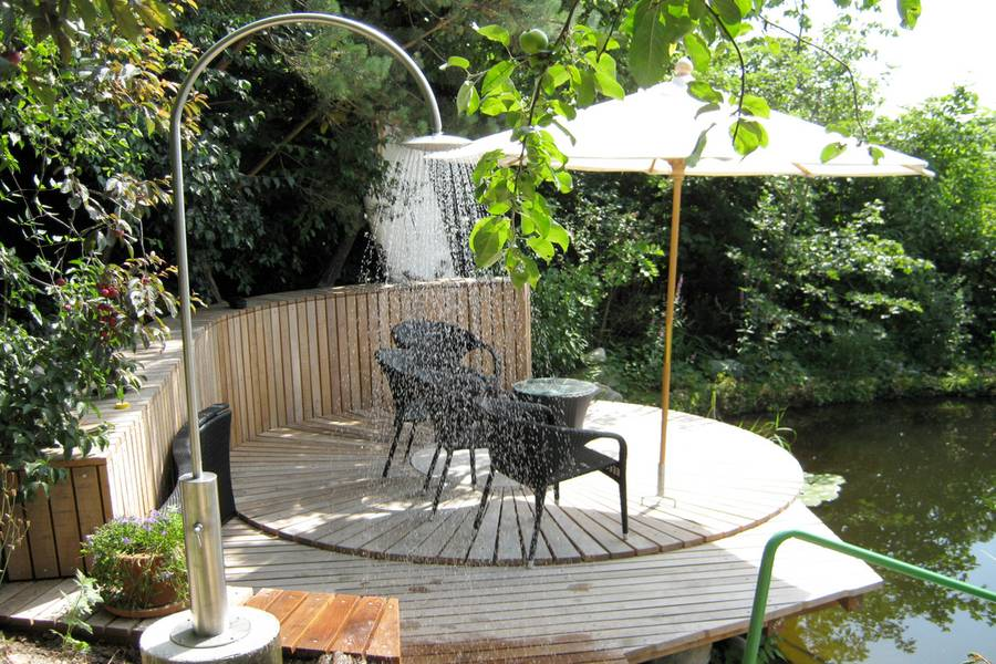 unsere referenzen im bereich brunnen gartenduschen co. Black Bedroom Furniture Sets. Home Design Ideas