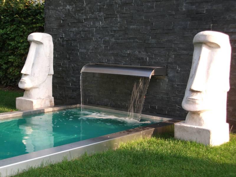 Wasserfallbrunnen für den Garten,den Pool- den Teich ...